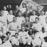 1904: Die Turner - i.d.Mitte 1. Vorstand Josef Kuch