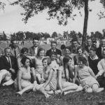 1932: Frauenturnerinnen beim Badischen Turnfest in Offenburg