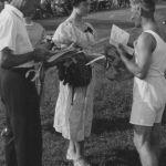 1956: Siegerkranz beim Turnfest