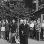 1959: Totenehrung zum 85-jährigen Jubiläum