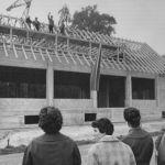 1962: Richtfest des Vereinsheims