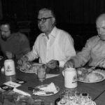 1980: Das Montagsturner-Herrenessen mit Otto Hirth