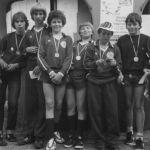 1983: Faustballerinnen beim Deutschen Turnfest in Frankfurt