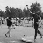1987: Michael Janisch auf dem Deutschen Turnfest in Berlin