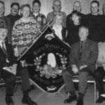 1999: Der Vorstand - stehend v.l. Karl-Heinz Froböse, Siegbert Kessel, Eric Schwingen, Eberhard Misch, Dr. Thomas Greß, Dr. Norbert Czerwinski, Ingeborg Kolb, Marion Reick, Gunter Klaiber, Götz Reich, Holger Krause, Ute Backes-Haag - sitzend v.l. Vorsitzender Günter Brümmer, Stellv. Vorsitzender Dr. Hartmut Braun, Stellv. Vorsitzender Manfred Biersch